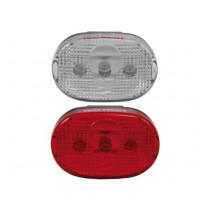 Ikzi Light Set - Front / Rear - LED - White / Red