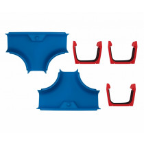 Aquaplay 103 Canal Systems - T-Sections, Sets of 2
